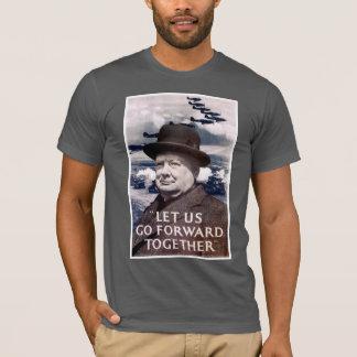 私達を一緒に前に進むことを許可して下さい Tシャツ