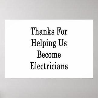 私達を救済するためのありがとうは電気技師に似合います ポスター