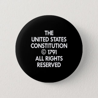 私達を確保される憲法黒くして下さい 5.7CM 丸型バッジ