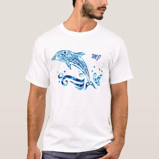 私達を私達のイルカの友人と調和して住むことを許可して下さい Tシャツ