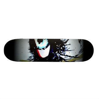 「私達をRomantics」のスケートボード電話して下さい 20.6cm スケートボードデッキ
