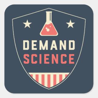 私達アメリカの人々の要求科学 スクエアシール