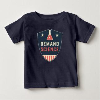 私達アメリカの人々の要求科学 ベビーTシャツ