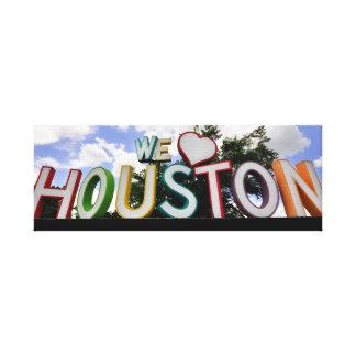 私達ハートヒューストン キャンバスプリント