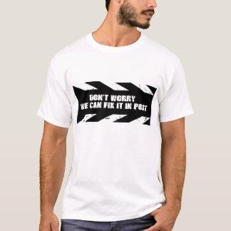 、私達ポストのそれを固定できます心配しないで下さい Tシャツ