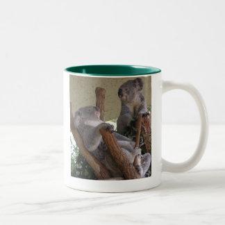 私達不精なコアラ-コーヒー・マグ ツートーンマグカップ