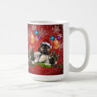 私達3人の王クリスマスのコーヒーカップ コーヒーマグカップ