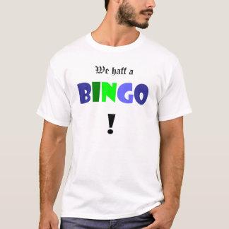 私達haffビンゴ! tシャツ