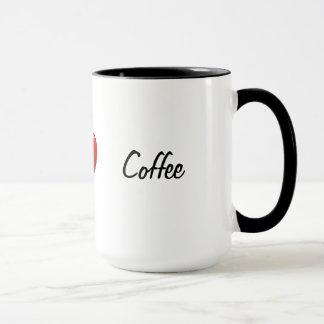 「私(ハートの)コーヒー」マグ マグカップ