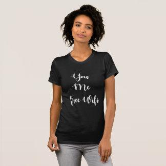 : 私: 自由なWifi Tシャツ