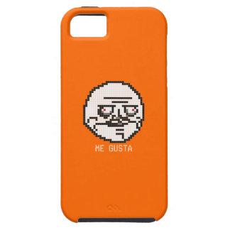 私Gustaピクセル芸術のミーム(オレンジ) iPhone SE/5/5s ケース