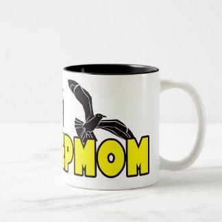 私I愛私の義母のマグ ツートーンマグカップ