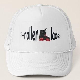 私rollerbladeの人の白いトラック運転手の帽子 キャップ