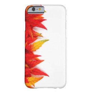 秋か紅葉の火色の電話カバー BARELY THERE iPhone 6 ケース