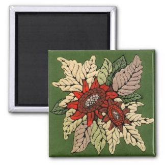 秋によってはエナメルのアートワークが開花します マグネット