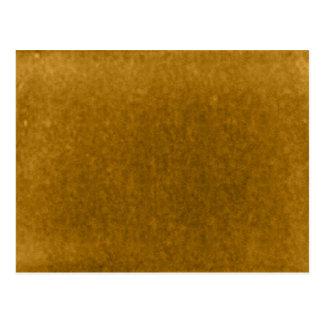 秋のこはく色の収穫の金ゴールドの水彩画のテンプレート ポストカード