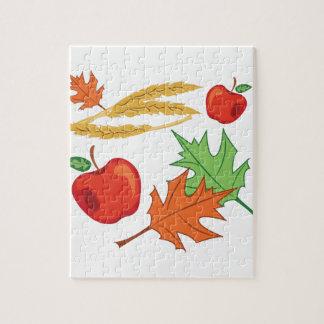 秋のりんご ジグソーパズル