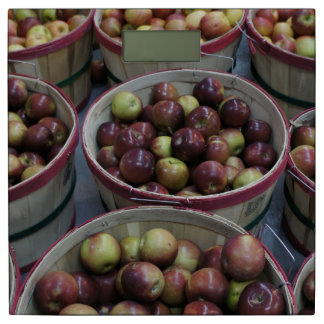 秋のりんご 体重計