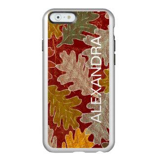 秋のカシの葉 INCIPIO FEATHER SHINE iPhone 6ケース