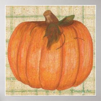 秋のカボチャポスター ポスター