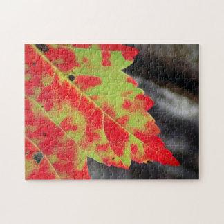 秋のカムフラージュ ジグソーパズル