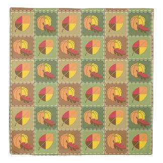 秋のキルトの羽毛布団カバー 掛け布団カバー
