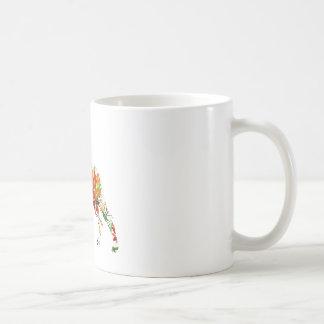 秋のグレートデーン コーヒーマグカップ