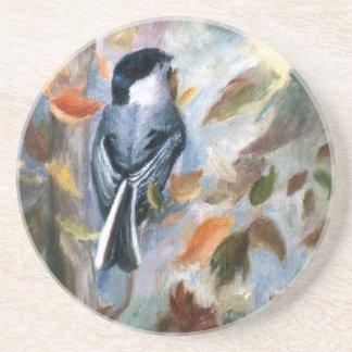 秋のコースターの《鳥》アメリカゴガラ コースター