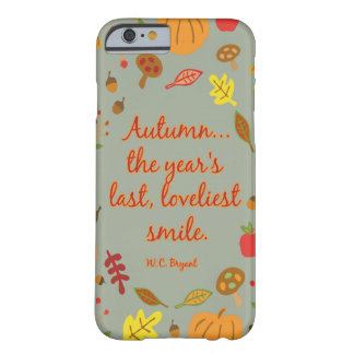 秋のスマイル BARELY THERE iPhone 6 ケース