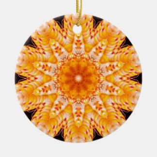 秋のトウモロコシの花の文字の磁器のオーナメント セラミックオーナメント