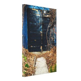 秋のドア キャンバスプリント