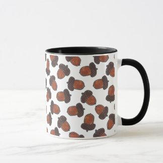 秋のドングリのマグ マグカップ