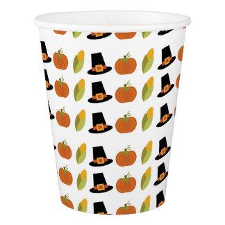 秋のパーティーのコップ 紙コップ