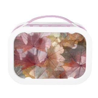 秋のピンクのyuboのお弁当箱 ランチボックス