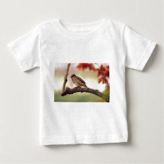 秋のフィンチ ベビーTシャツ
