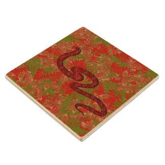 秋のヘビ ウッドコースター