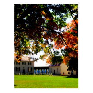 秋のマウントバーノン ポストカード