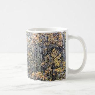 秋のマグの《植物》アスペン コーヒーマグカップ