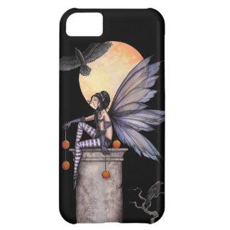 秋のワタリガラスのゴシック様式妖精のファンタジーの芸術 iPhone5Cケース