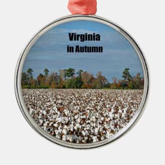 秋のヴァージニア メタルオーナメント