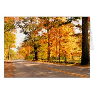 秋の光 カード