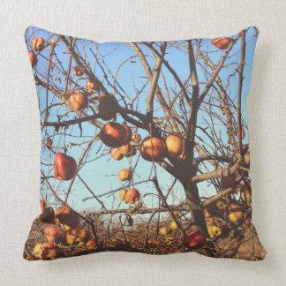 秋の写真芸術のりんご クッション