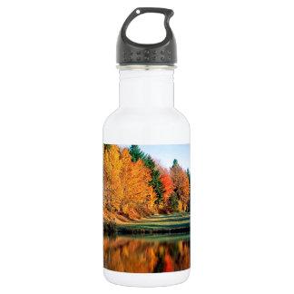 秋の反射ヴァーモント ウォーターボトル