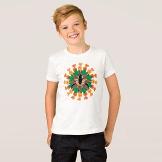 秋の収穫のイラストレーション Tシャツ
