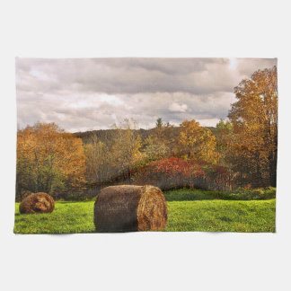 秋の収穫 キッチンタオル