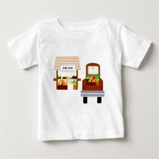 秋の収穫 ベビーTシャツ