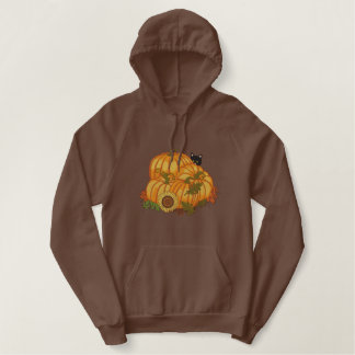 秋の奨励金 刺繍入りパーカ