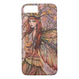 秋の女王のモーリーハリスンによる妖精のファンタジーの芸術 iPhone 7ケース