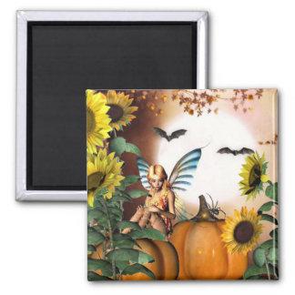 秋の妖精の庭の磁石 マグネット