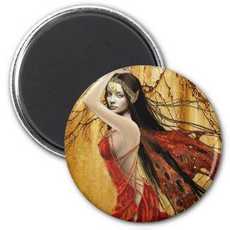 秋の妖精の磁石 マグネット
